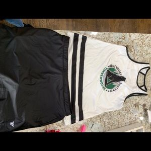 cheer skort outfit